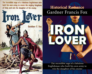 iron lover historical romance gardner f fox ebook paperback novel kurt brugel kindle gardner francis fox men's adventure library