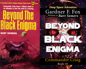 beyond the black enigma bart somers gardner f fox ebook paperback novel kurt brugel kindle gardner francis fox men's adventure library