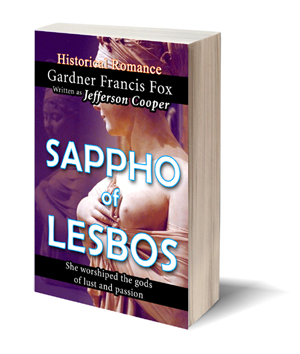 sappho of lesbos jefferson cooper gardner f fox ebook pulp paperback novel kurt brugel kindle gardner francis fox men's adventure library erotica sleaze