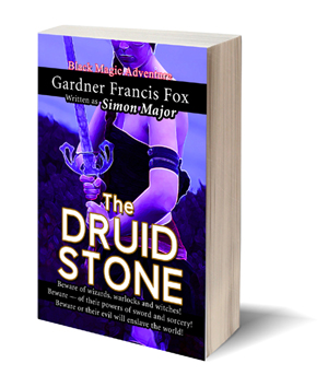 the druid stone gardner f fox ebook pulp paperback novel kurt brugel kindle gardner francis fox men's adventure library historical romance sword and sorcery erotica sleaze