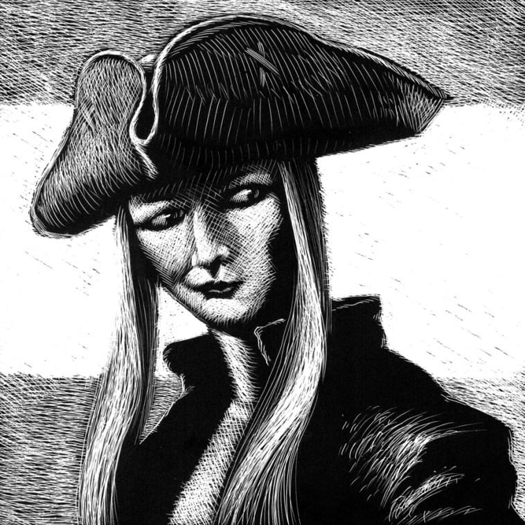 Rebel Wench Gardner F Fox scratchboard cover art Kurt Brugel historical fiction American Revolutionary War