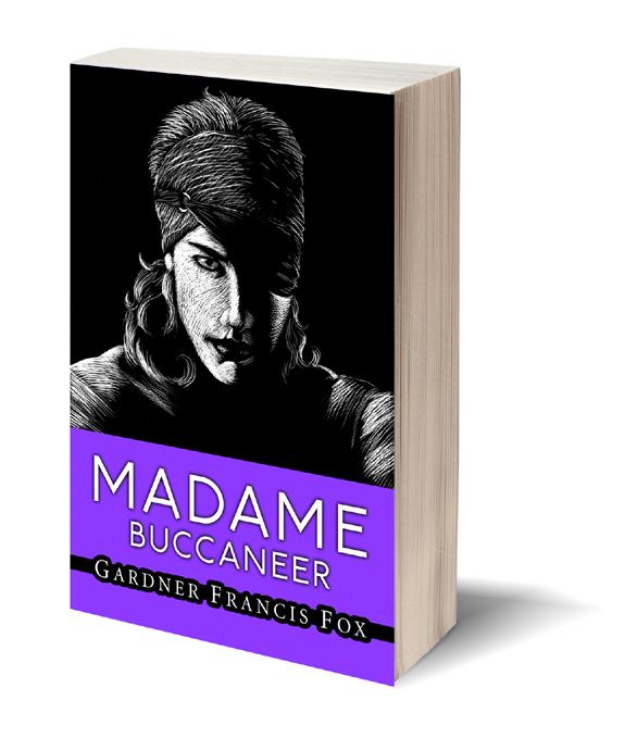 Madame Buccaneer Gardner F Fox scratchboard cover art Kurt Brugel historical fiction female pirate privateer