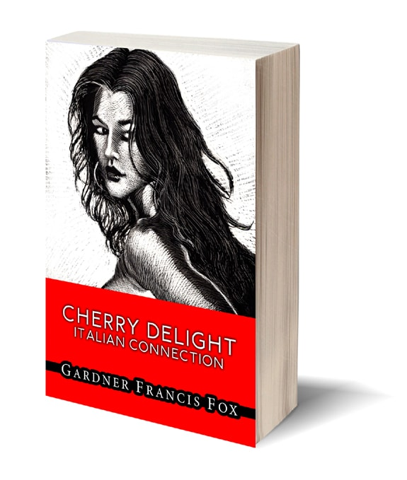 second edition book cover for gardner f fox glen chase Cherry Delight first sexecutioner novels