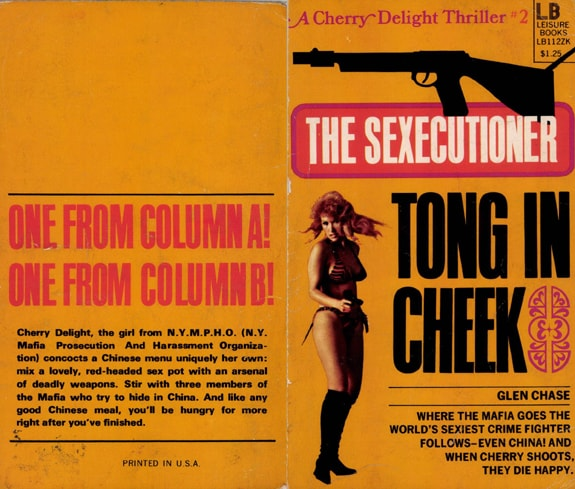Original Glen Chase Cherry Delight #2 Tong in Cheek Gardner F Fox book covers