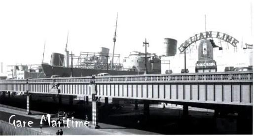 Normandie New York City 1940