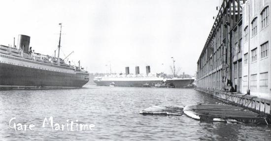 SS Paris arrives in New York