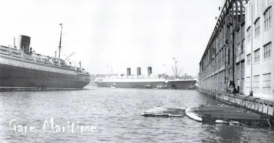 SS Paris arrives in New York