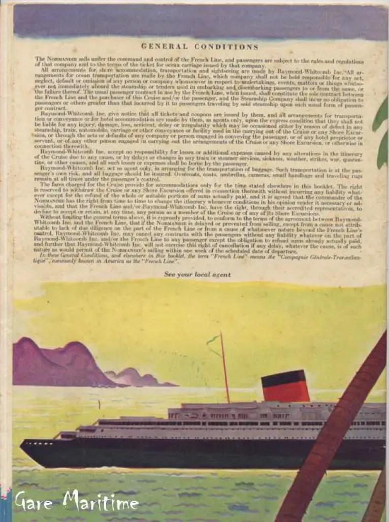 Rio Cruise - Back Cover