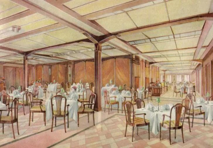 00000 second class dining