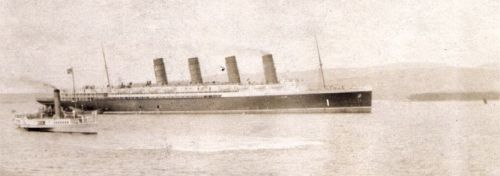 Lusitania in Clyde