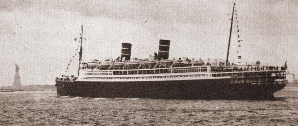 Morro Castle Approaches New York