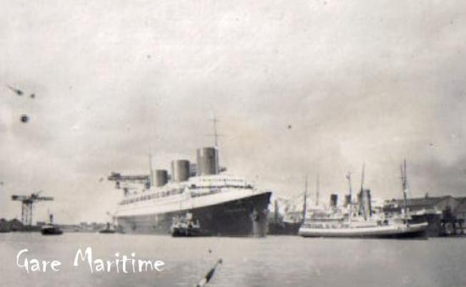 Fitting out at St Nazaire