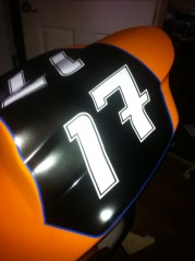 Tail unit of the GSXR