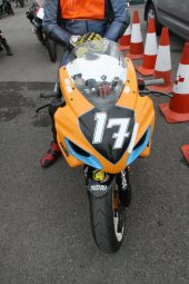 Garf 17 in the Pits at Oulton Park
