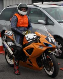 Garf 17 in the Holding Area at Oulton Park