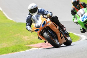 Cadwell 2012, being chased by number 50 again