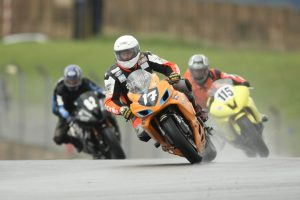 In front of some at the Donington Park in the NG Open 600