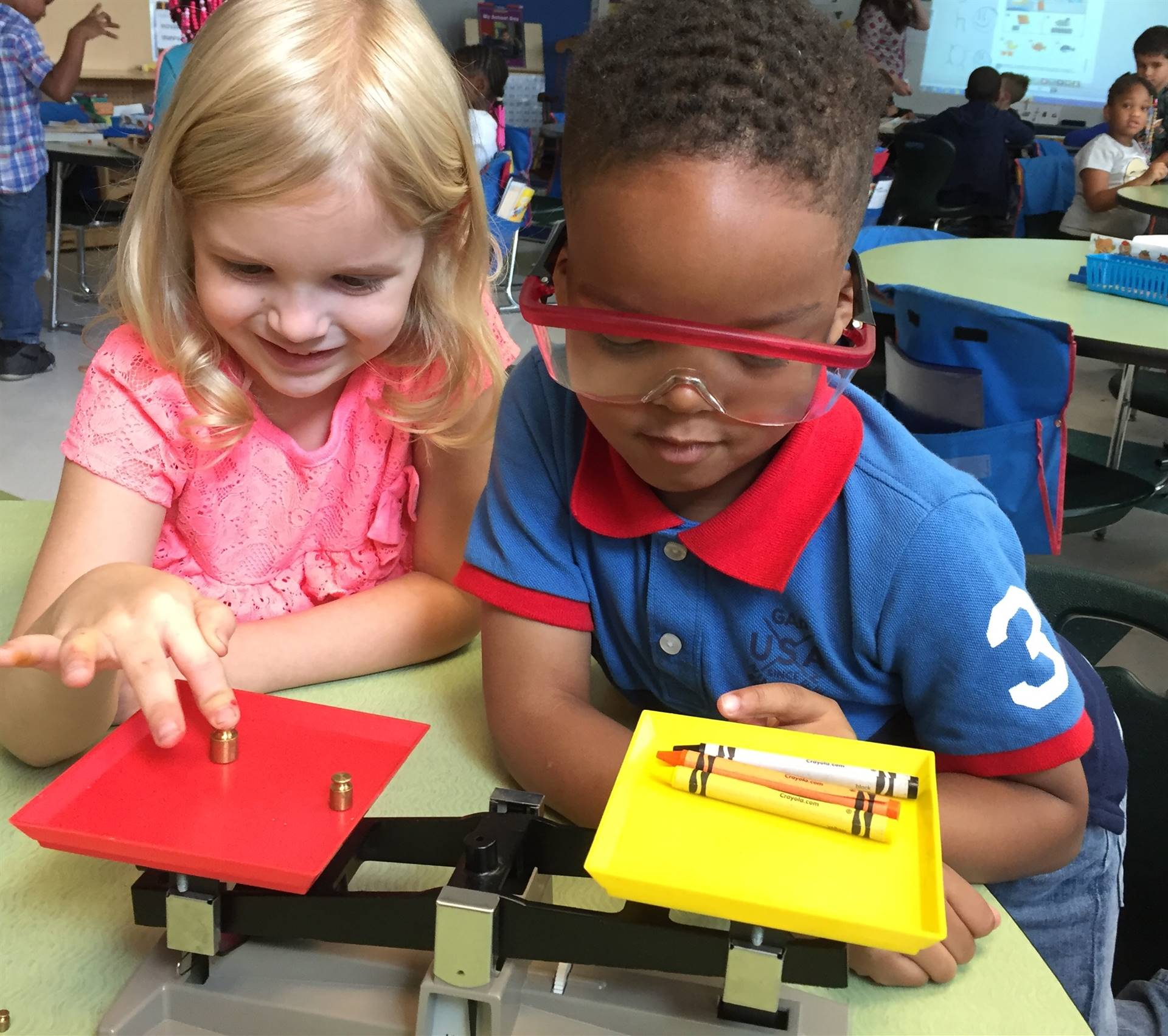 Halusker S Kindergarten Class Learning About Science Tools