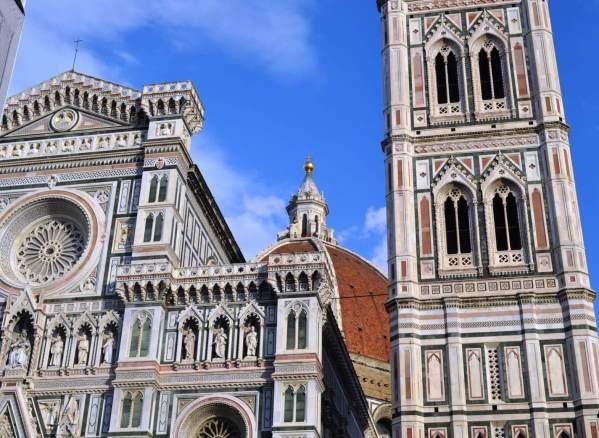 A Catedral de Santa Maria del Fiore é o Duomo de Florença. A cidade é a capital da região da Tostaca e uma das mais procuradas pelos noivos. Crédito de imagem Edith Auler