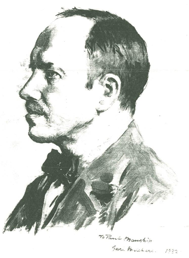 Portrait of Paul Manship by Gari Melchers, 1932