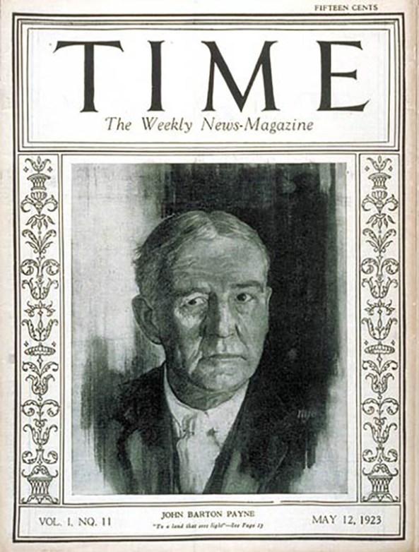 Payne Time Maga cover 1923