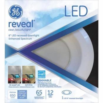 GE General Electric 6″ LED Recessed Downlight Enhanced Spectrum 65 Watt