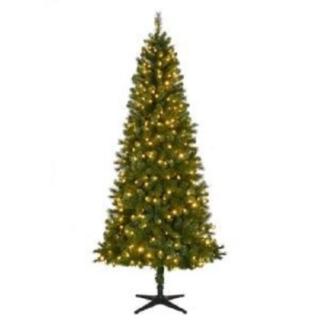Home Accents 7.5ft. LED Wesley Artificial Christmas Tree & Color Changing Lights