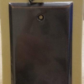 Baldwin Classic Square Beveled Edge Single Box Cover Venetian Bronze (Lot of 6)