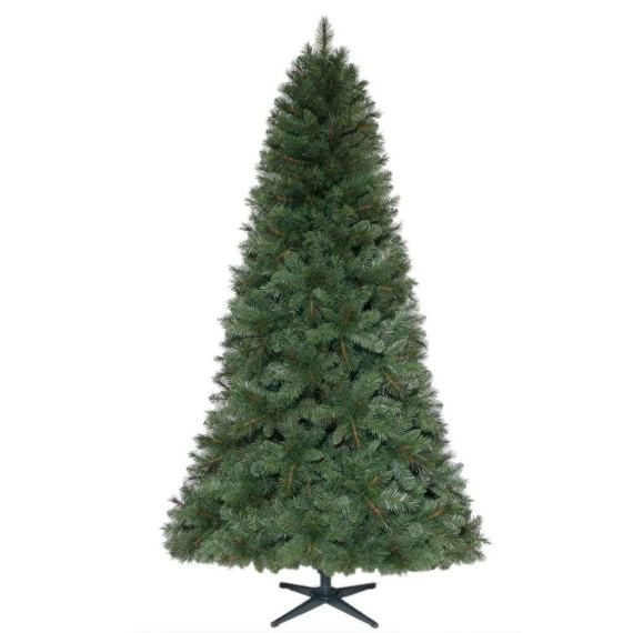 7.5 ft. Unlit Wesley Mixed Spruce Artificial Christmas Tree 479536