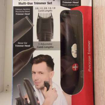 Bell & Howell 6-Piece Men's Grooming Multi-Use Trimmer Set BH1036