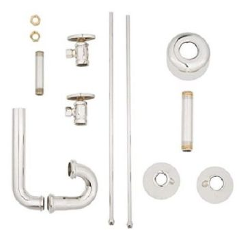 Brasstech Total Solutions Faucet Connection Kit, Polished Nickel 4777/15
