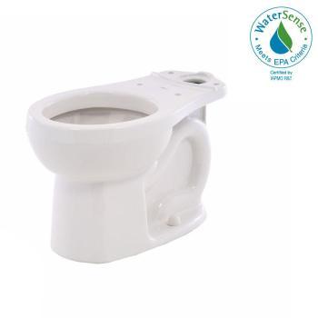 American Standard H2Option Siphonic 2-Flush Round Toilet Bowl White 3708.216.020