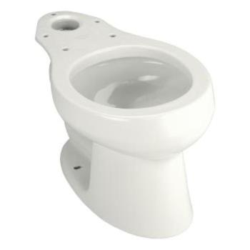KOHLER Wellworth Round Toilet Bowl Only in White K-4197-0