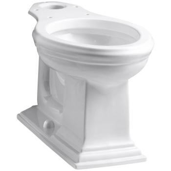 KOHLER Memoirs Comfort Height Elongated Toilet Bowl Only in White K-4380-0