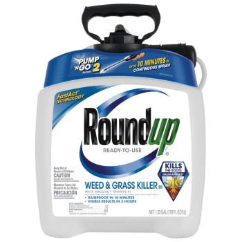 Roundup Ready-to-Use Pump-N-Go Sprayer 1.33-Gallon Weed & Grass Killer 5100110