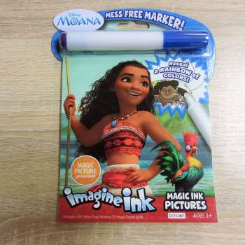 Bendon Disney Moana Imagine Ink Magic Ink Pictures
