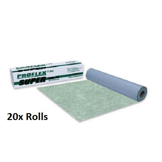 Proflex 90mil Premium Peel & Stick Crack /  Sound Membrane Underlayment SIM90