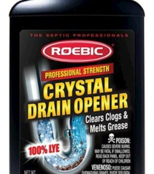 Roebic HD-CRY-DO 2-Pound Heavy Duty Crystal Drain Opener