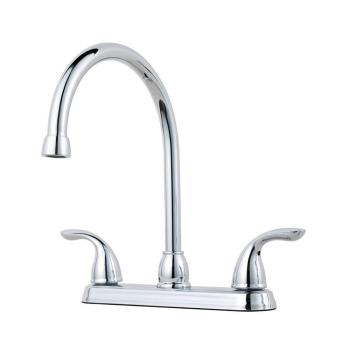 Pfister Pfirst Series 2-Handle Polished Chrome Standard Kitchen Faucet G1362000