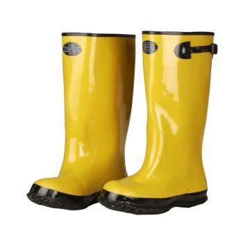 Cordova 17″ Rubber Slush Boot Cotton Lined Hi Vis Yellow Top Strap BYS17-12