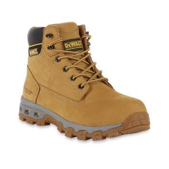 "DEWALT Men's Halogen 6"" Boots Steel Toe  Wheat Size 9.5(M) DXWP84354M-WHT-09.5"