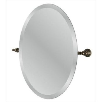 Pegasus Estates 24. 2″ x 3. 4″ Oval Mirror in Heritage Bronze 20720-4596H