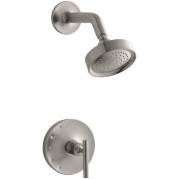 KOHLER 1-Handle Tub Shower Faucet Trim Lever Handle BN NO VALVE K-TS14422-4-BN