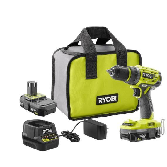 RYOBI 18-Volt ONE+ Lithium-Ion Cordless Brushless 1/2″ Drill/driver P1815