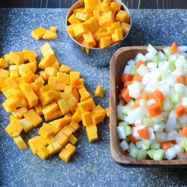 hearty lentil and butternut soup   Garlic + Zest