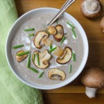Creamy Mushroom Bisque | Garlic + Zest