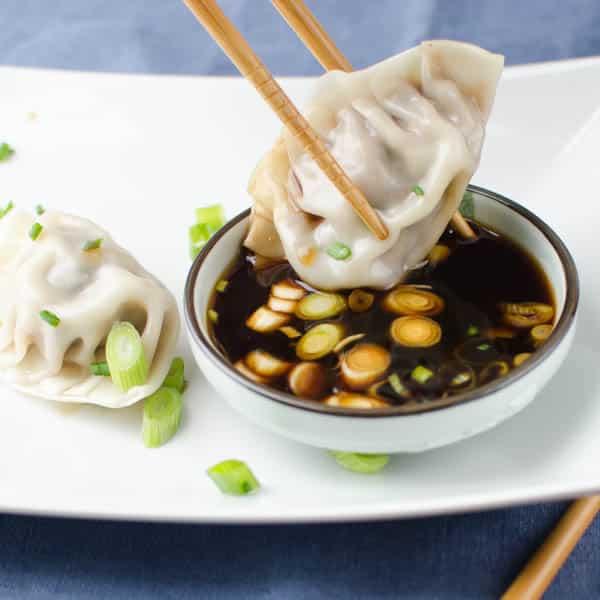 Asian Pork Dumplings   Garlic + Zest