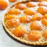 Apricot Almond Tart   Garlic + Zest