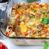 Hatch Chile Breakfast Strata | Garlic & Zest