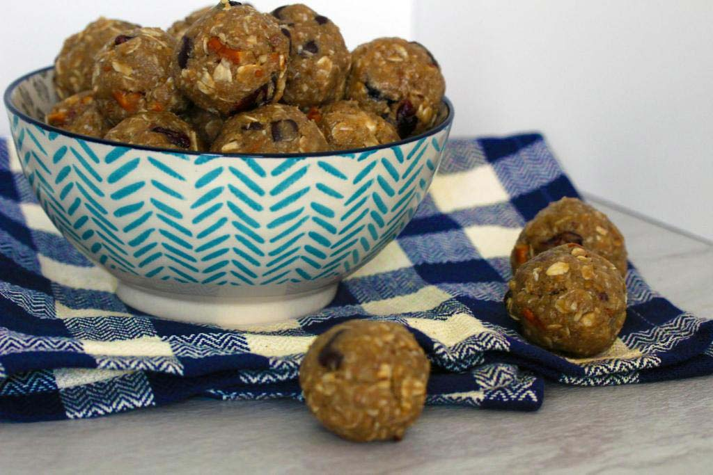No Bake Sweet and Salty Energy Bites